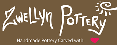 Zwellyn Pottery - Handmade Pottery Carved with Love