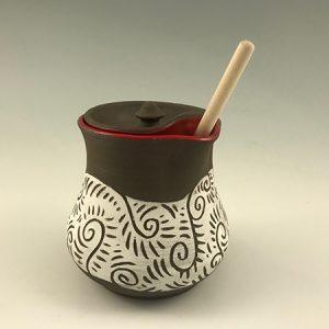 honey pot ceramic