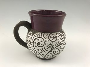 pottery mug oversized