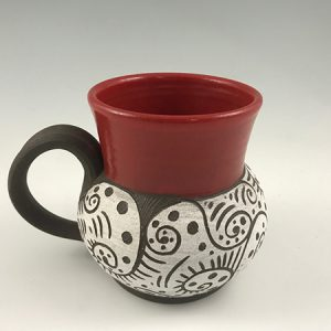 pottery coffee mug 22oz