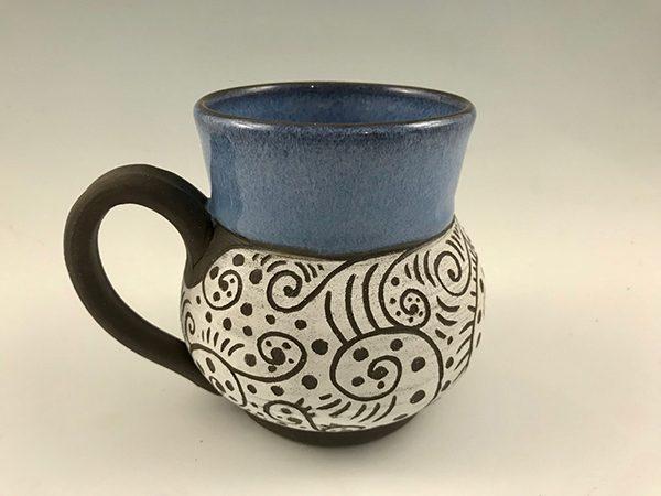 20 oz handmade coffee mug