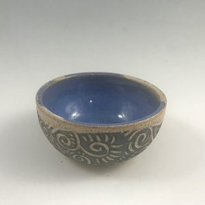 small pottery bowl