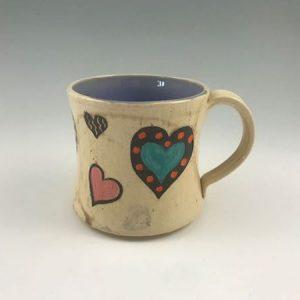 handmade valentines day mug