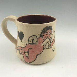 cupid mug valentines day