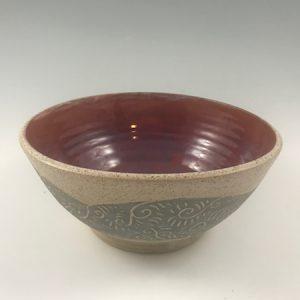 sgraffito bowl