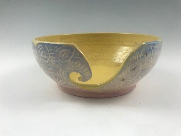spring yarn bowl