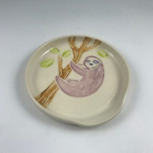 purple sloth spoon rest