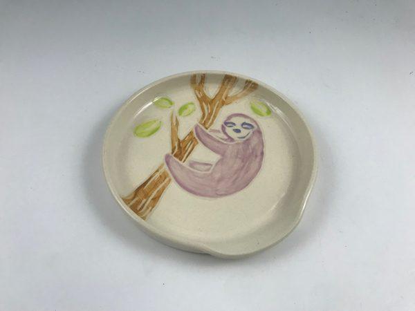 purple sloth spoon rest