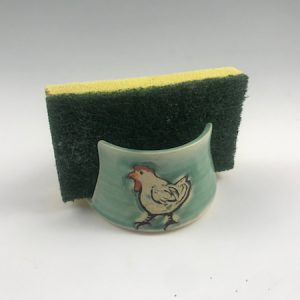 chicken sponge holder