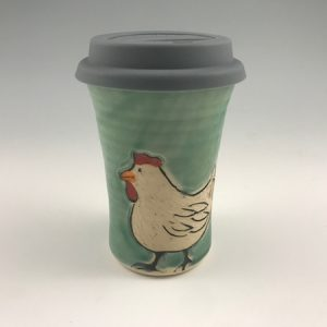 chicken travel mug