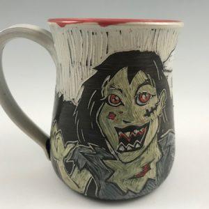 zombie girl mug