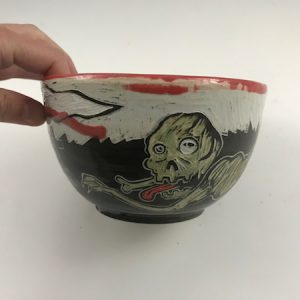 zombie candy bowl