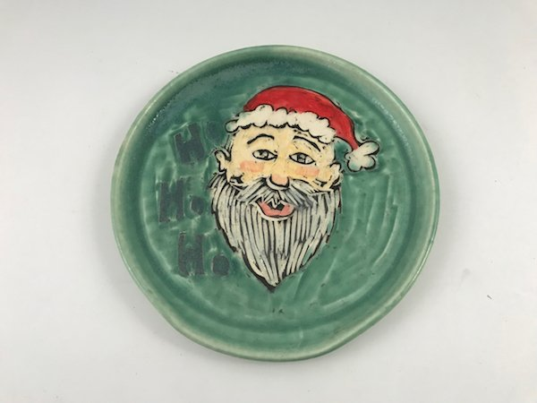 santa spoon rest