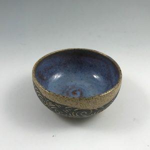 small sgraffito bowl