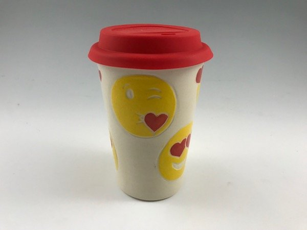 emoji travel mug