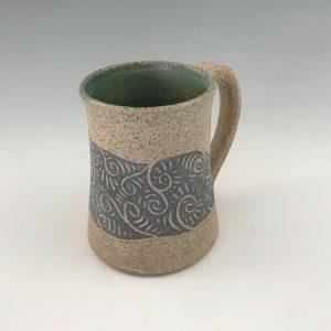 ceramic beer stein