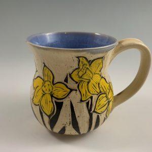 daffodil mug