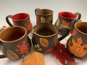 leaf peeping mugs