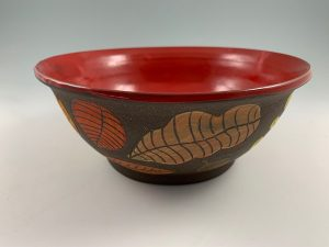 leaf peeping bowl