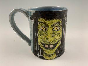 handmade witch mug