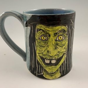 handmade witch mug